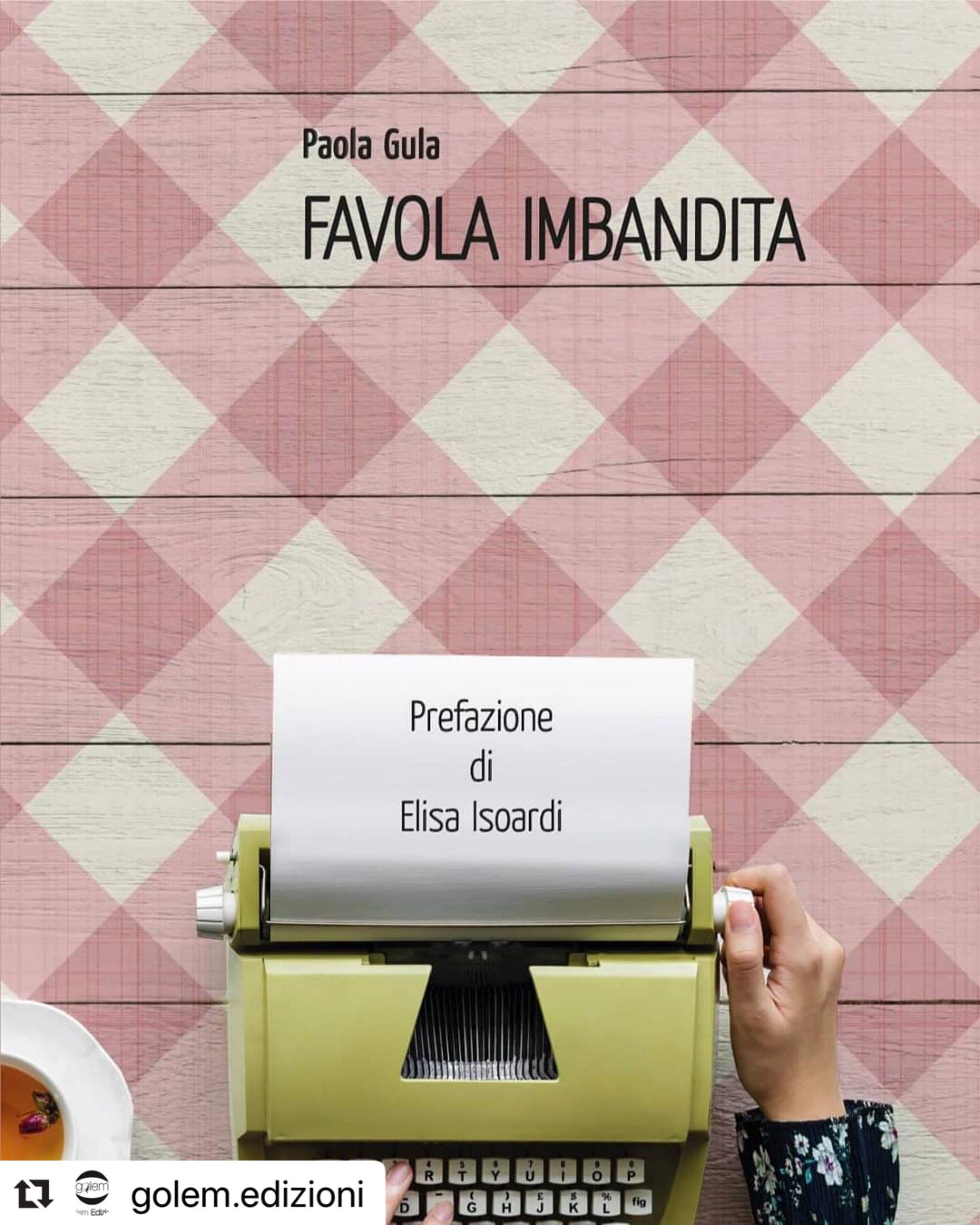 Copertina Favola Imbandita di Paola Gula